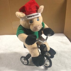 Harley Davidson Plush Hog Tricycle